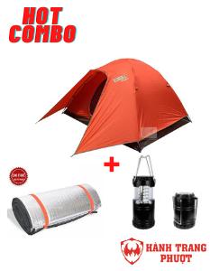 Combo thuê lều cắm trại cho 6 người