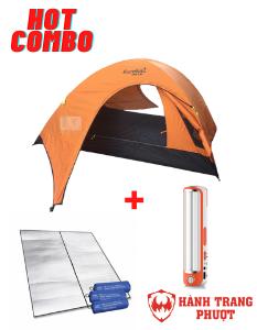Combo thuê lều cắm trại cho 2 người