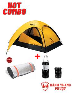 Combo thuê lều cắm trại cho 4 người
