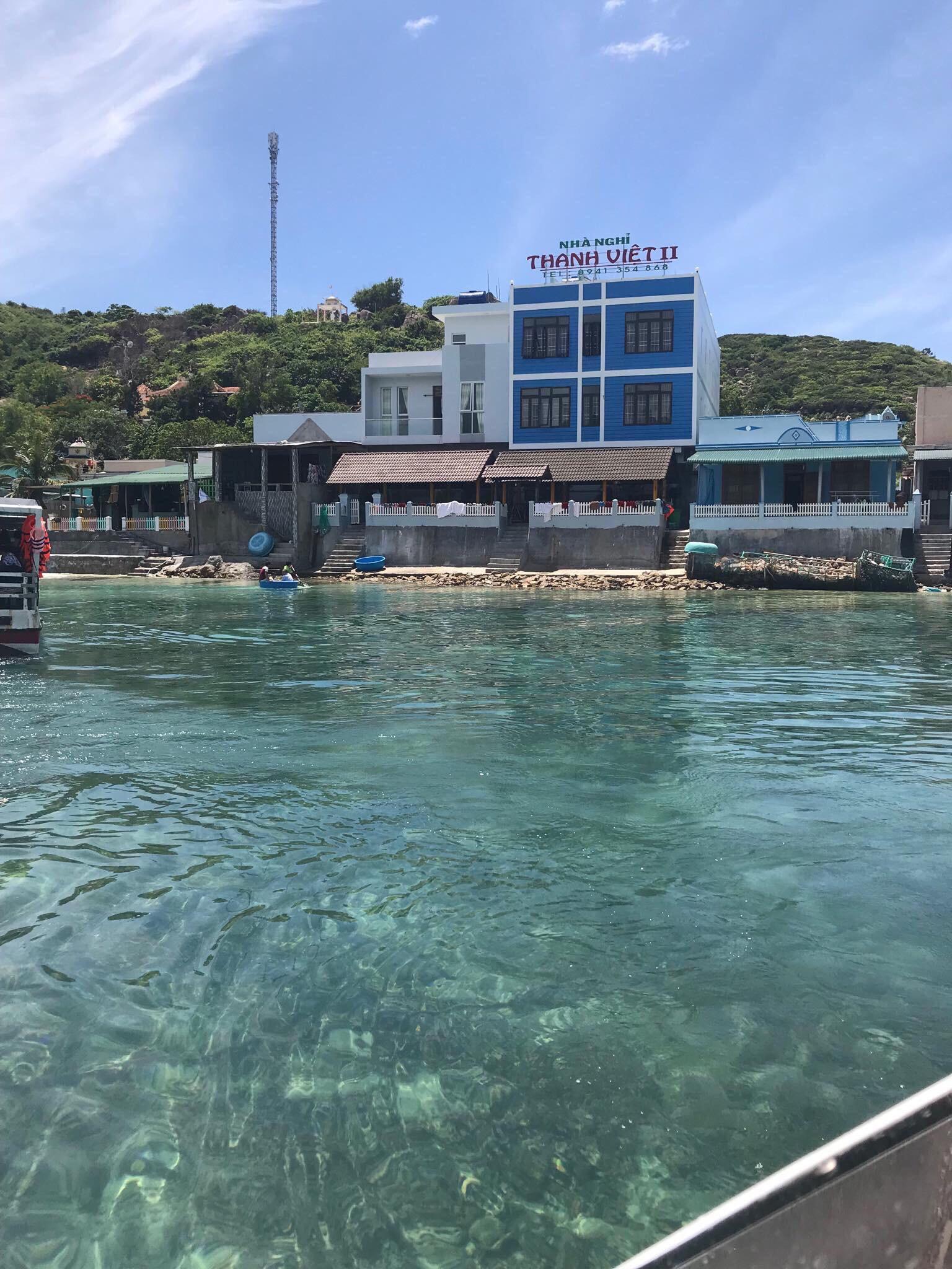 Nhà nghỉ trước biển tụi mình ở