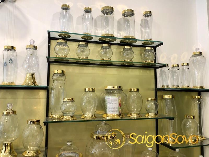 các mẫu bình thủy tinh